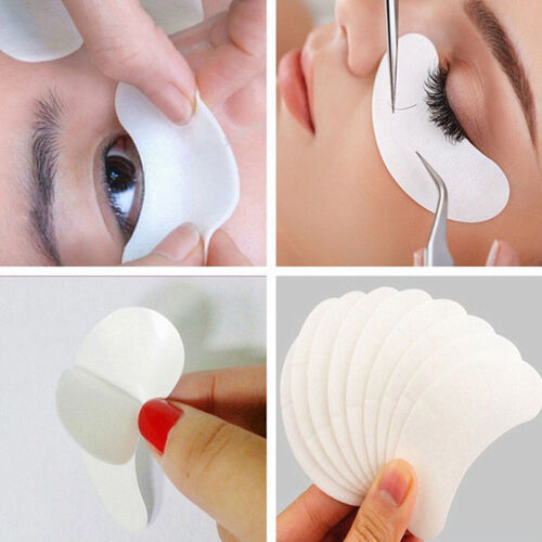 500PCS Lot Eyelash Pad Gel Patch Lint Free Lash Extension Eye Mask Beauty Tool