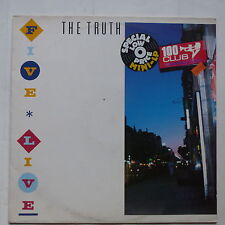 LP 5 titres THE TRUTH Five live irs 26179