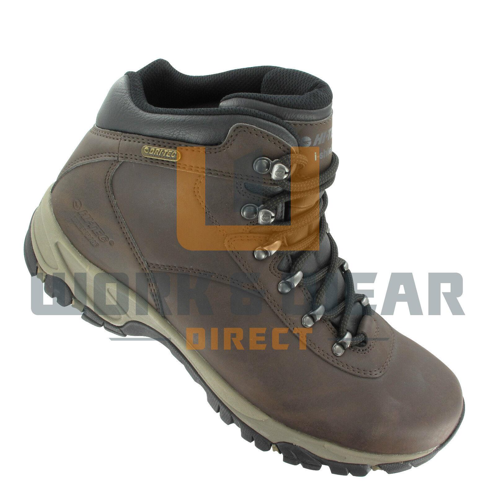 Hi-Tec ALTITUDE V i WP leather lace up waterproof outdoor outdoor outdoor hiking botas Marrón 209cf5