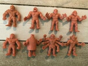 Vintage-M-U-S-C-L-E-Muscle-Men-Action-Figures-1980s-Lot-of-8