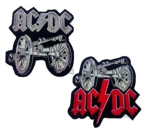 Ac//Dc Grande Bordado Plancha Parche para Coser Heavy Metal Rock Punk Acdc