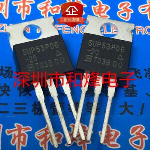 10PCS SUP75P03-07 TO-220