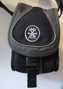 CRUMPLER-Sporty-Guy-0-6-Green-Black-Small-Bag-Camera-Binoculars-Phone