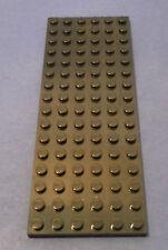 5 x Lego System Bau Platte schwarz 6x16 Grundplatte Train Eisenbahn 302726 3027