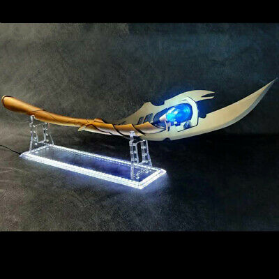 HCMY Avengers 1:1  Loki Metal Scepter Wand Mind Stone Metal Cosplay Prop