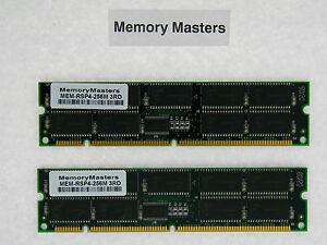 Copieux Mem-rsp4-256m 256mb (2x128) Drachme Mémoire Pour Cisco 7500 Rsp Routeur