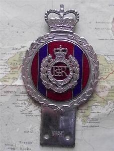Original-Vintage-Car-Mascot-Badge-British-Army-Royal-Engineers-Badge-by-Gaunt