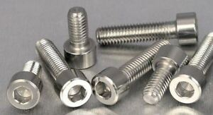 Fuel Cap Bolt Kit for  Triumph Sprint ST from 1998-04 in stainless steel