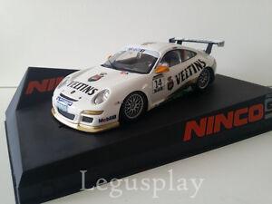 Slot SCX Scalextric Ninco 50526 Porsche 997 -Veltins-