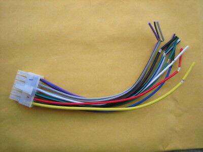 Pyle Wire Harness 12 Pin for PLRMR27BTB, PLRMR23BTW, PLRMR29B Marine stereo    eBay   Pyle Audio Wire Harness      eBay