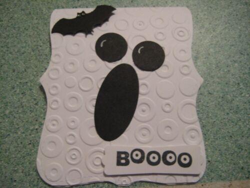Choose premade or kit Happy Halloween Ghost Handmade Greeting Card