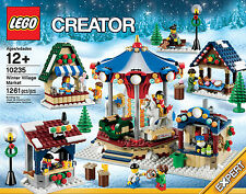 LEGO WINTER VILLAGE MARKET 10235 Christmas Creator set new sealed, global ship