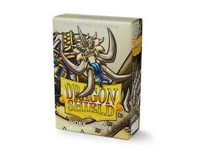 Japanese Matte Ivory 60 ct Dragon Shield Sleeves YuGiOh Size 10% OFF 2+