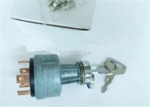 2-Keys-Ignition-Starter-Switch-6-Terminal-Wire-For-Kobelco-Sk-Excavator-zy