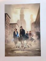 Fantastic Beasts And Where To Find Them Movie Poster 12 X 17