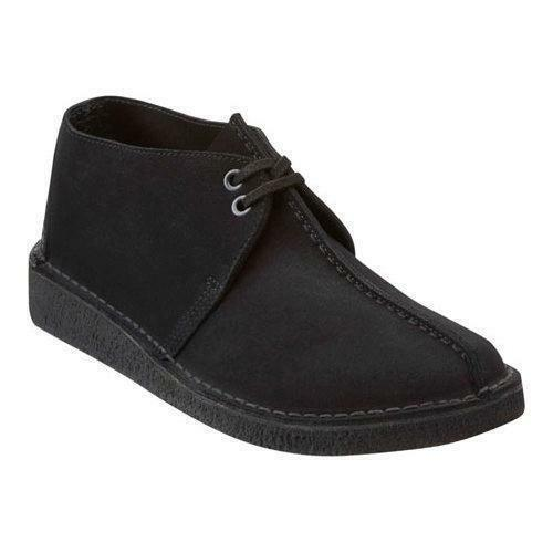 CLARKS ORIGINALS MEN'S DESERT TREK BLACK SUEDE 26138667