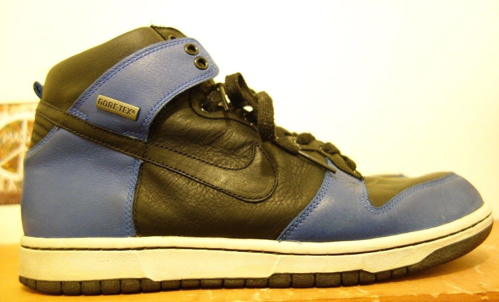 Nike Dunk High Premium GTX Hommes 10.5 Royal 2007 Bleu Jordan Gore tex 2007 Royal RARE 7de2c2