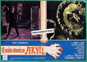 T41 Fotobusta Die Meine Freund Jekyll Ugo Tognazzi Abbe Lane Chanel Van 1