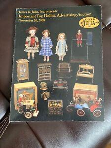 Important Toy Doll Dollhouse Advertising Julia Auction Catalog Ebay