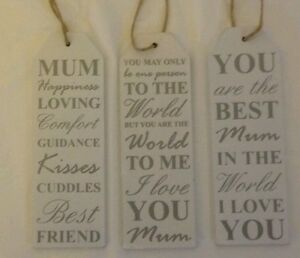 hanging sign mother plaque present gift for mum mother love mothers