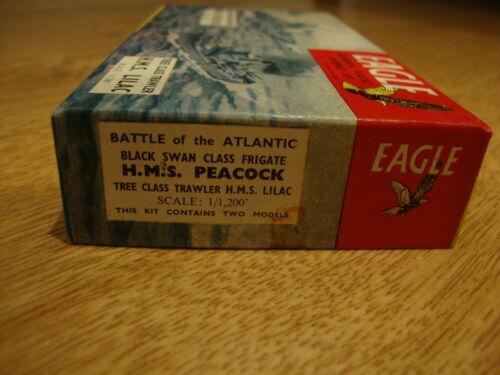 RARE L47 EAGLE Model Kit Battle of the Atlantic HMS Peacock /& HMS Lilac 1//1200