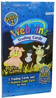 6 Packs Ganz Webkinz Trading Card Game Series 2 Booster Packs Each With 6 Cards