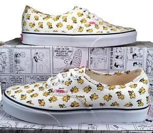 9bb89573101 Vans X by Peanuts Woodstock Authentic Sneaker Snoopy Charlie Brown ...