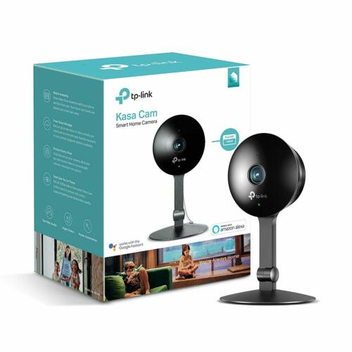 KC120 TP-Link Kasa Indoor Camera 1080p Smart Home Works w Alexa /& Google Home