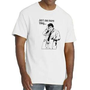 Lt-Columbo-T-shirt-Just-one-More-Thing-Tee-TV-Cop