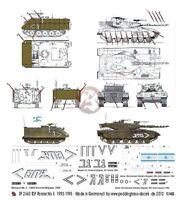 Peddinghaus 1/48 Idf Merkava Mark Iii, Magach 7c Tank & M113 Zelda Markings 2563
