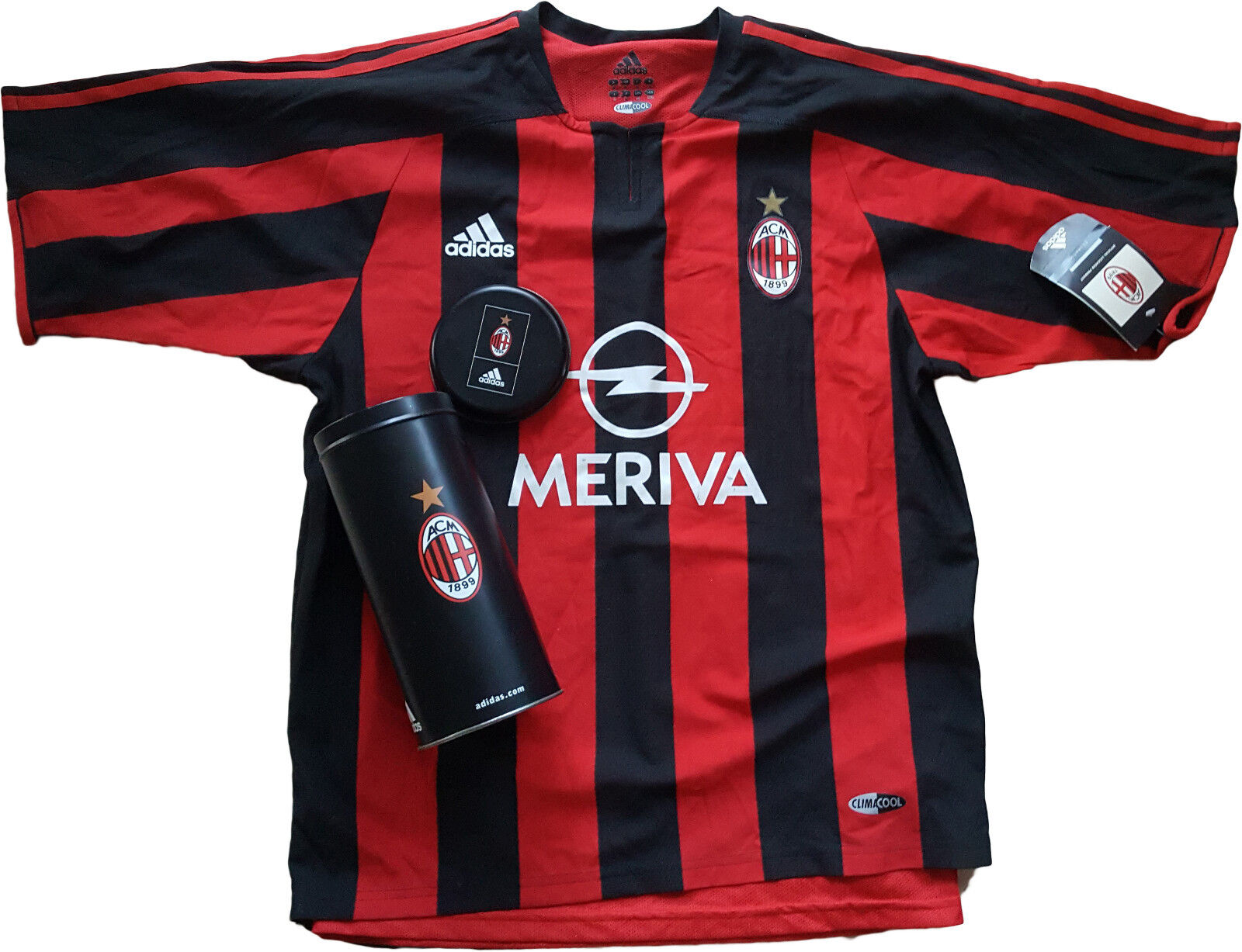 Maglia milan adidas Player issue authentic Meriva 2003 2004 Climacool DUAL LAYER