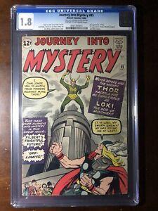 Journey-Into-Mystery-85-1962-1st-Loki-3rd-Thor-CGC-1-8-Key