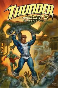 Thunder-Agents-T-H-U-N-D-E-R-Agents-Classics-Vol-1-Brand-New-Graphic