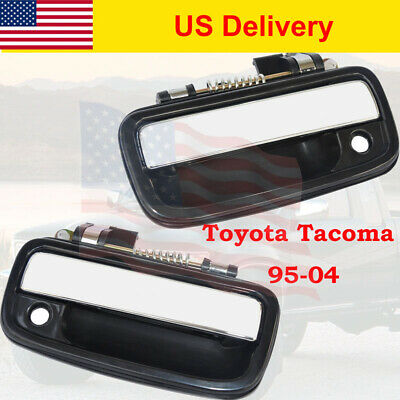 2Pcs Front Right Left Exterior Outside Outer Door Handle for 95-04 Toyota Tacoma