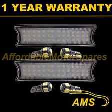 2X FOR BMW 3 SERIES E46 98-05 42 WHITE LED INTERIOR ROOF COURTESY LIGHT LAMP KIT