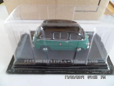 FIAT 600 MULTIPLA TAXI MILANO 1958   1/43  G8