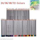 Artist 24/36/48/72 Colors Pro Marco Fine Drawing Sketch Pencils Set Supplies New