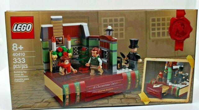 LEGO 40410  A Christmas Carol Charles Dickens Tribute New