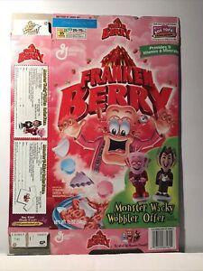Vtg General Mills Monsters Franken Berry Chocula Cereal Boxes Wobblers Set Of 4