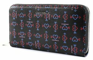 Multicolor L Around Coccinelle Noir Zip Wallet xwSnf1n