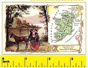 CDHM 1:12 Irish CORK Print Set Victorian Ireland DOLLSHOUSE  Mini