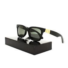 Super Sunglasses S1W America Gianni Black & Gold by RETROSUPERFUTURE