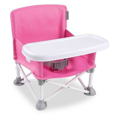 Summer Infant 174 Pop N Sit Portable Booster In Pink