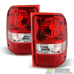 Image Is Loading 2001 2017 Ford Ranger Red Clear Tail Lights