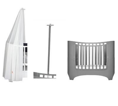 Leander Spannbettlaken für Wiege 50 x 80 cm in weiß 2er Set