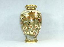 XXXL Seltene große Vase Satsuma Kitamura Japan Meiji