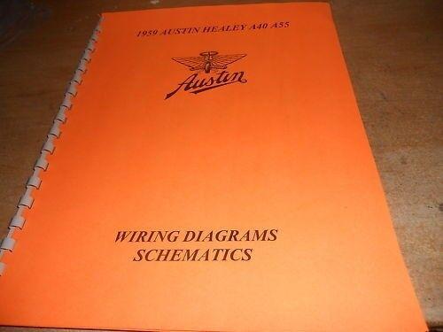 1959 Austin A40 A55 Austin Healey Wiring Diagram Manual