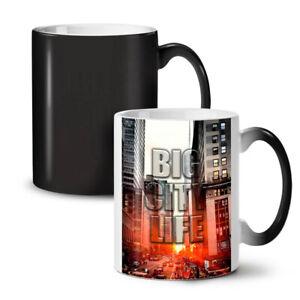 Big Life Urban Photo City NEW Colour Changing Tea Coffee Mug 11 oz | Wellcoda