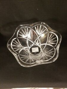 Marquis-Waterford-Crystal-Honour-8-5-034-Tulip-Bowl-Candy-Dish-Discontinued