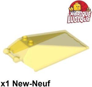 Lego-1x-Windscreen-8x4x2-cockpit-pare-brise-vaisseau-trans-yellow-21849-NEUF